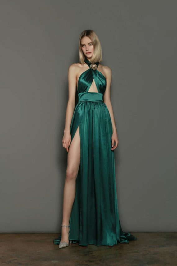 Eva Emerald Dress