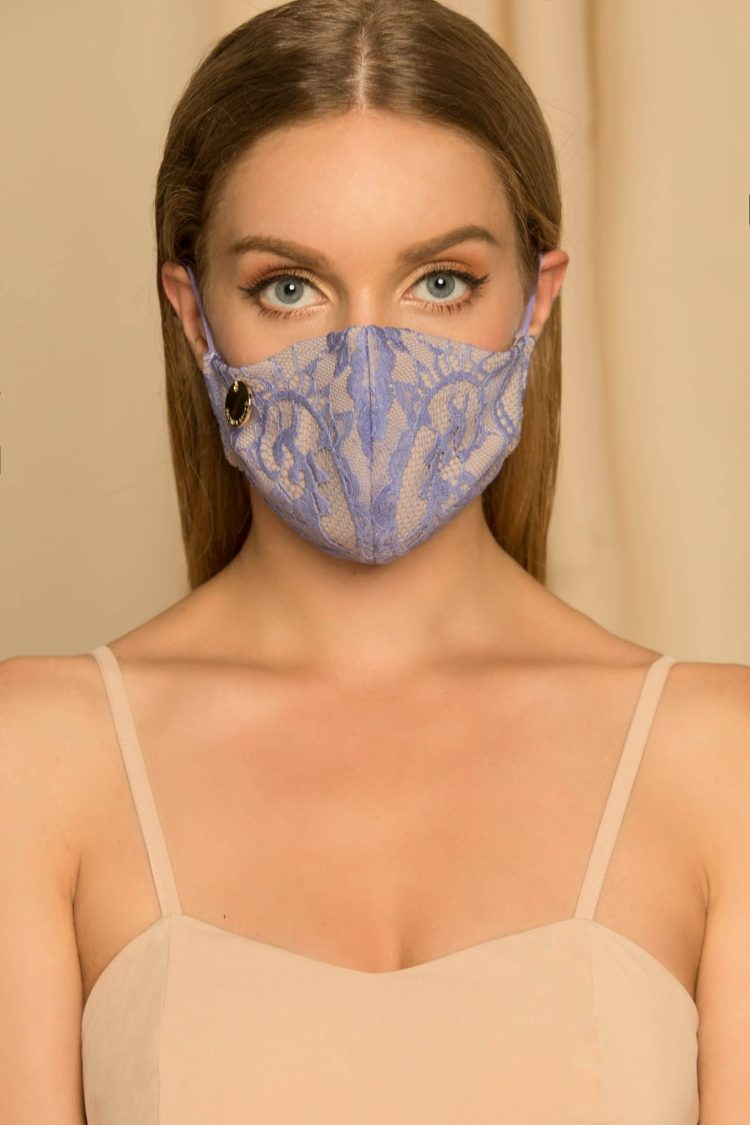 Lilac Face Mask