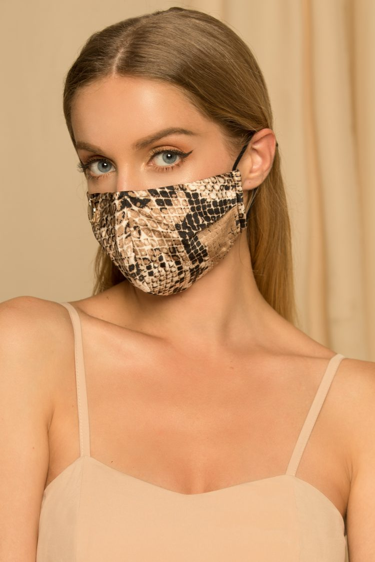 Snake Mask Designer Wear
