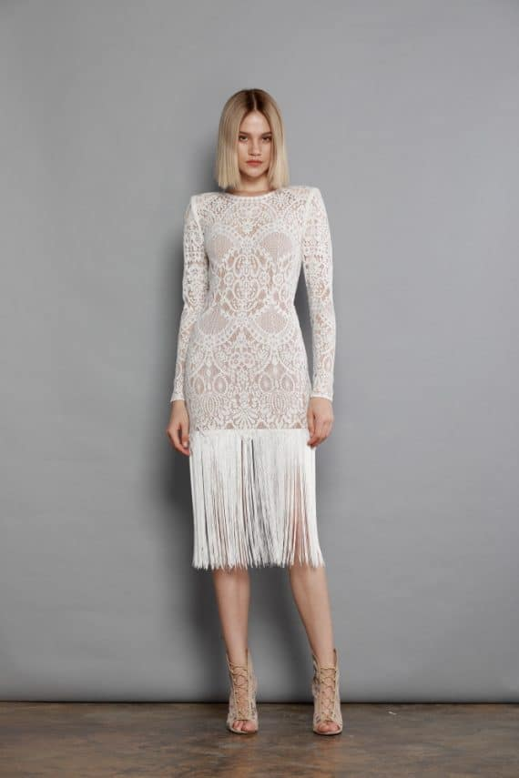 Allegra Blanc Midi Dress