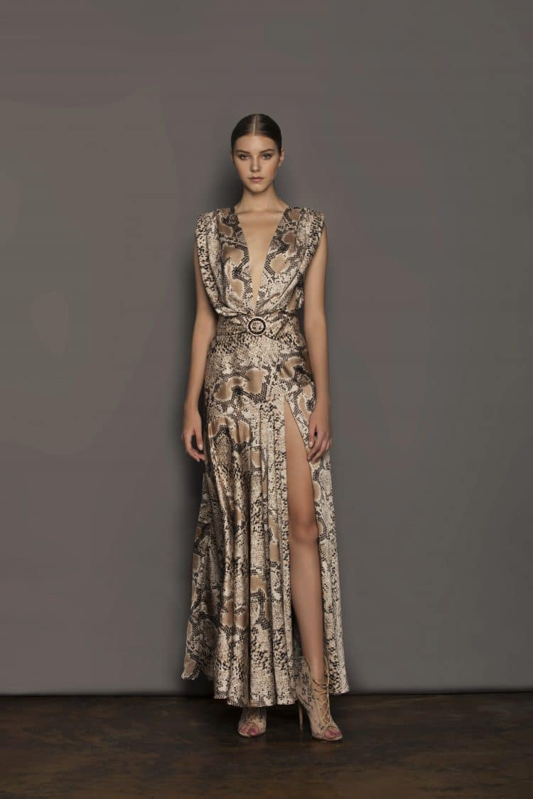 Python Maxi Dress Resort Dresses