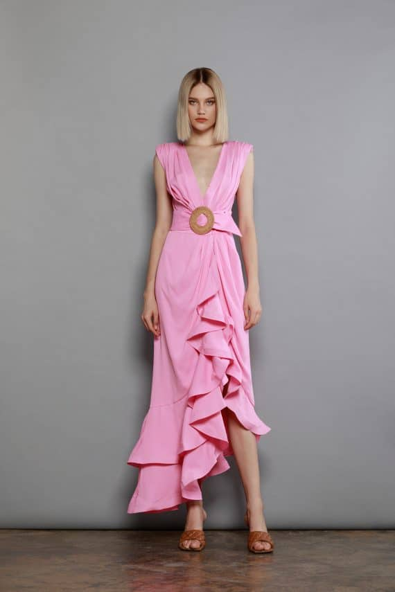 Lika Robe In Pink Spring Dresses