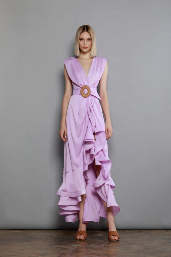 Lika Robe In Purple Spring Dresses