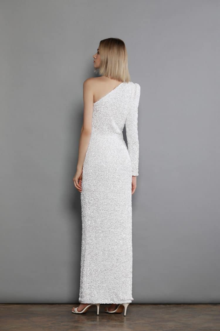 Galaxy Blanc Maxi Dress Spring Dresses