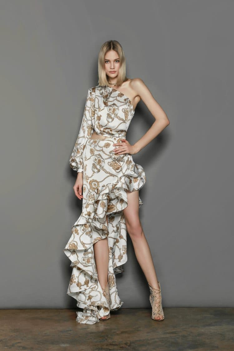 Chain Gown Spring Dresses