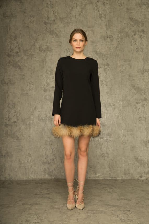 Muccia Mink Dress