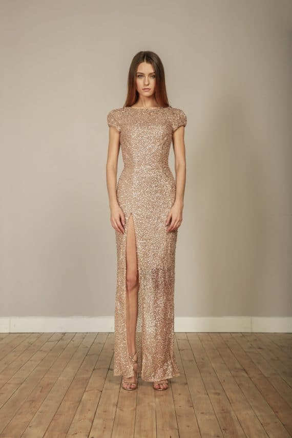 Suzanna Gold Gown