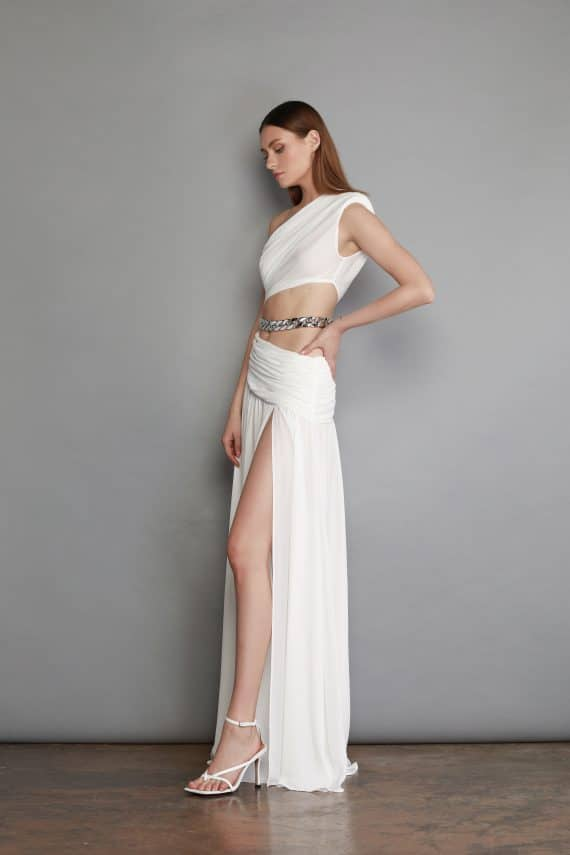 Jafari Blanc Gown
